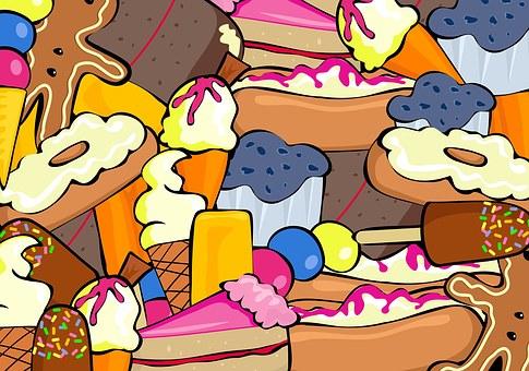Sweet, Dessert, Food, Muffin, Cake, Bun, Treat, Donut