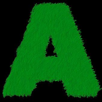Letter To, Letter, To, Alphabet, Green, Grass, Prato