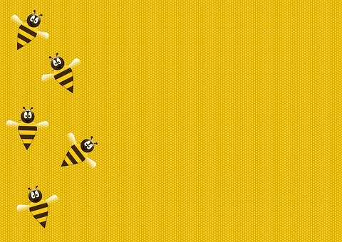 Bee, Honey, Honeybee, Honeycomb, Wax, Worker