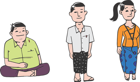 Young, Burmese, Youth, Student, Boy, Girl, Man, Woman