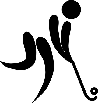 Hockey, Olympics, Sports, Field, Logo