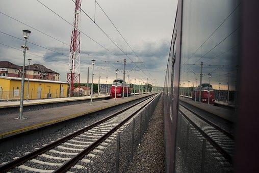 Railway, Train Station, Train, Travel, Rails, Transport