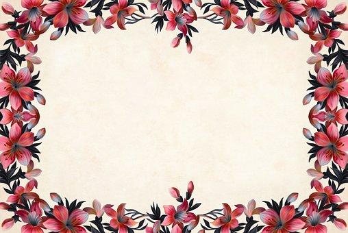 Flower, Floral, Paper, Vintage, Roses, Bouquet, Cluster