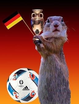 2016, Germany Flag, Cup, European Championship, Flag