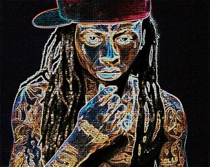 Lil Wayne, Graffiti, Wall, Lil Wayne