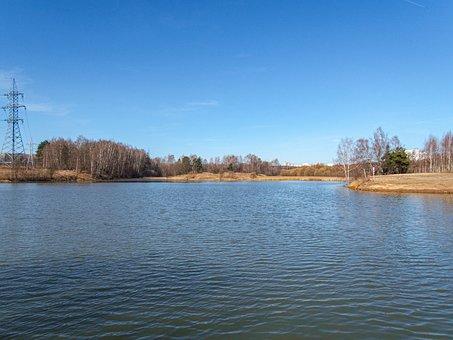 Nature, Pond, Sky, Park, Water