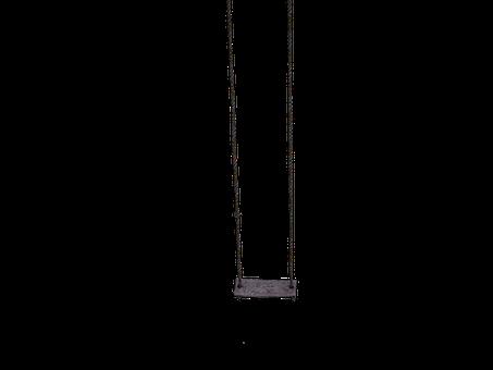 Swing, Wooden Swing, Dew, Rope, Hanging