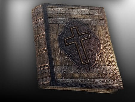 Antique, Bible, Book, Old, Read, Historically, Holy