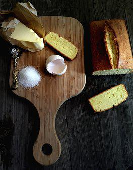 Pound Cake, Butter Pound Cake, Baking, Food