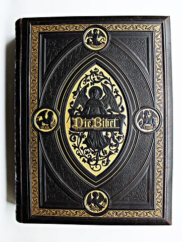 Book, Bible, Leather-bound, The Art Of Book Binding