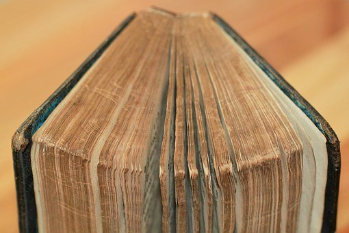 Book, Book Pages, Book Cover, Leather Cover, Font, Read