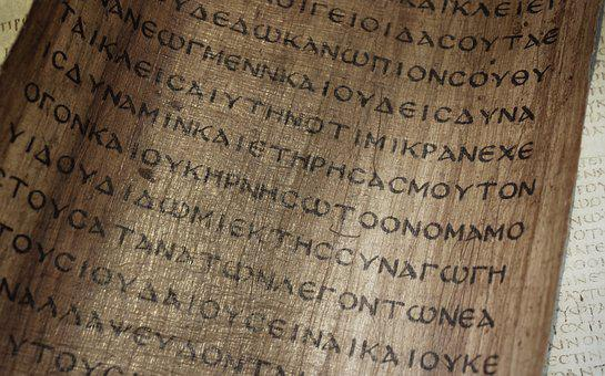 Bible, Manuscript, Papyrus, Book, The Scriptures, Copy