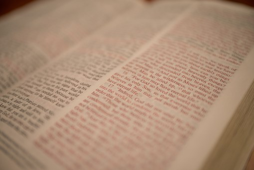 Scripture, Bible, Christian, Book, Open, Page, Read
