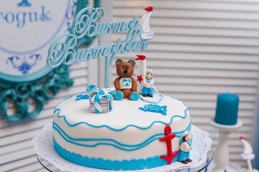 Cake, Sweet, Cupcake, Day Of Birth, Holiday, Baking