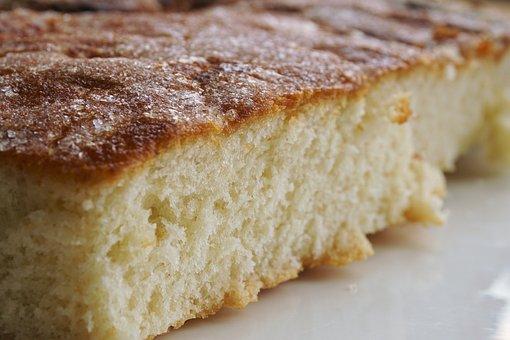 Dough, Sugar Cake, Cake, Brioches, Sugar, Sweet