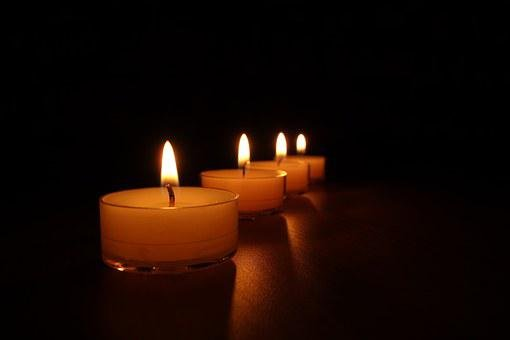 Tea Lights, Candles, Candlelight, Light, Wax