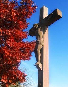 Crucified, Crucifixion, Cross, Jesus, Christian, Church