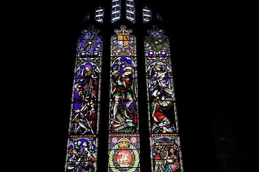Church Window, Church, Window, Religion, Faith, Believe