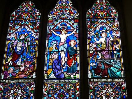 Church Window, Church, England, Image, Christianity