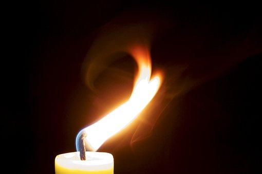 Candle, Flame, Burn, Light, Wick, Cozy, Shining, Hot