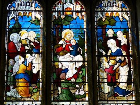 England, Image, Church, Christianity, Church Window