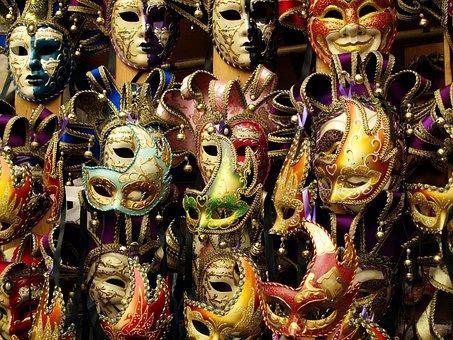 Mask, Carnival, Italy, Italian, Venezia, Face, Festival