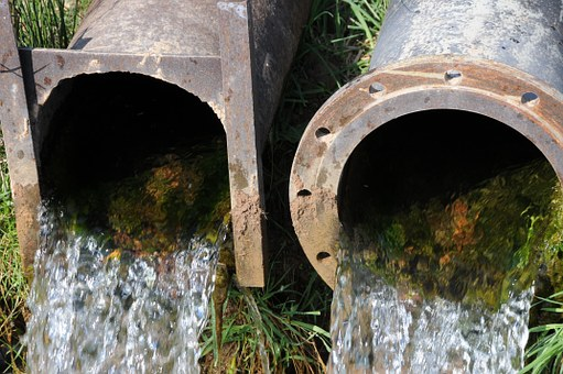 Pipes, Drainage, Fluent, Stainless, Splash, Water