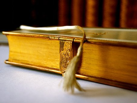 Book, Historically, Antiquarian, Old, Gold, Gilt Edge