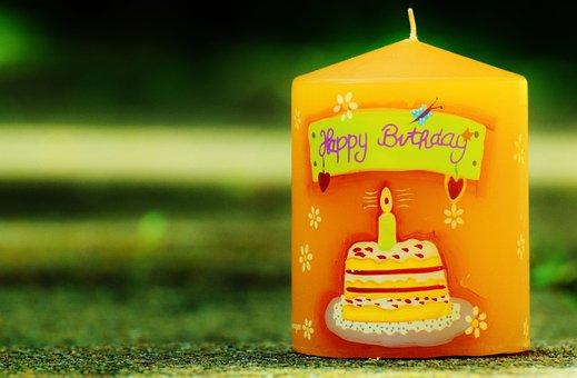 Birthday, Candle, Happy Birthday, Celebration, Romance