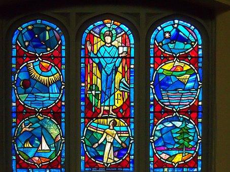 Stained Glass, Windows, Window, Faith, Holy, Religion