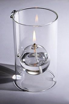 Lamp, Candles, Oil