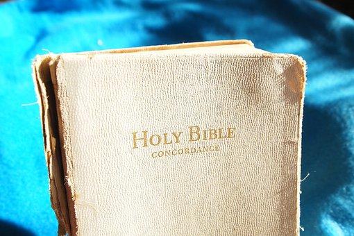 Bible, White Bible, Old, Christian, Faith, Read, Book