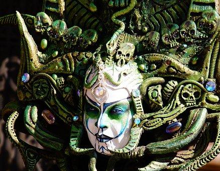 Artists, Barcelona, Green, Mosaic, Spain, Ornament