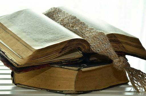 Bible, Old Bible, Christianity, Pages, Read, Religion