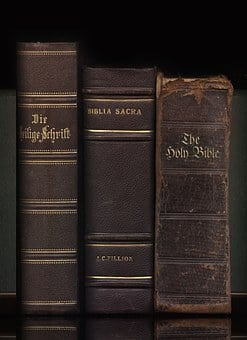 Bible, Book, Old, Antique, Religion, Faith