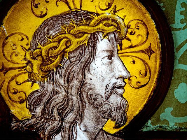 Jesus, Christ, Stained Glass, Religion, Religious