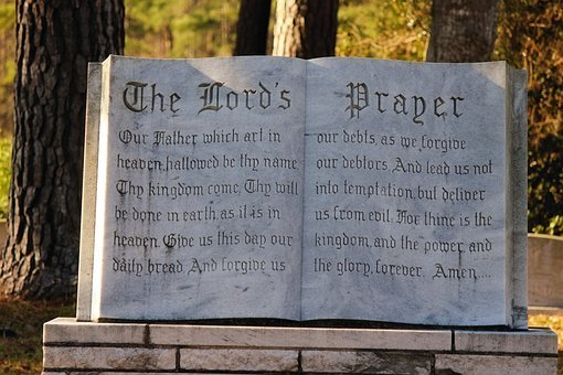 Religious, Bible, Lords Prayer, Nature, Cemetery