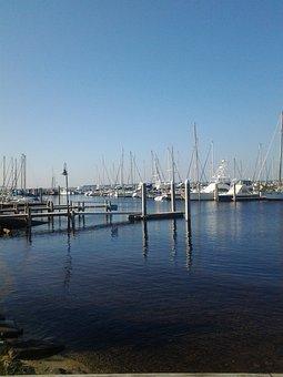 Boats, Marina, Sails, Bay, Water, Harbor, Port, Yacht