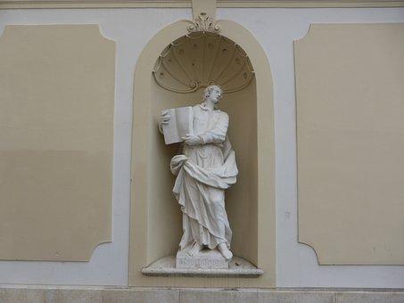 Statue, Figure, Sculpture, Woman, Face, Tuttlingen, Art