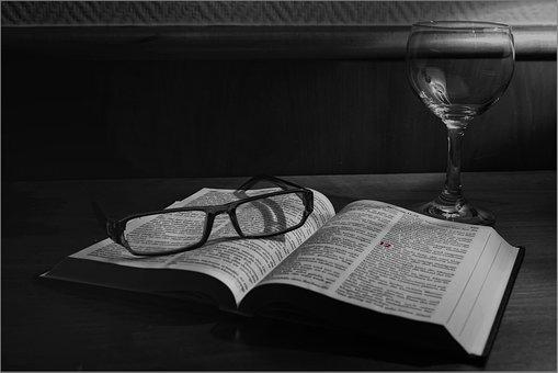 Book, Read, Glasses, Still Life, Books, Study