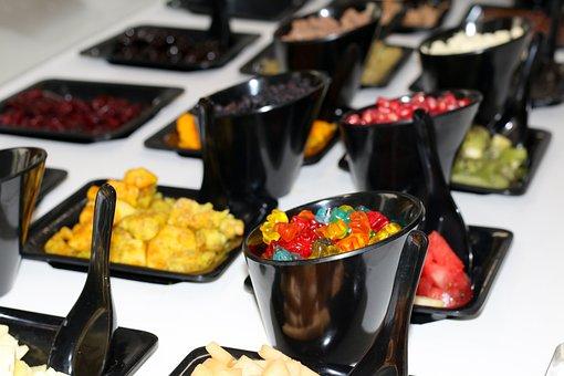 Yogurt Bar, Fruit, Gummi Bears, Summer, Flavor, Cold