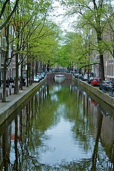 Amsterdam, Channel, Canal, Canals, Amstel, Waterway