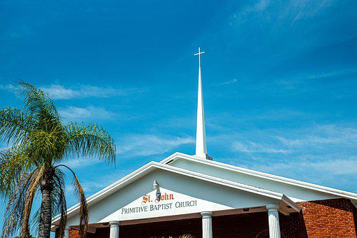 Spire, Church, Cross, Architecture, Building, Religion