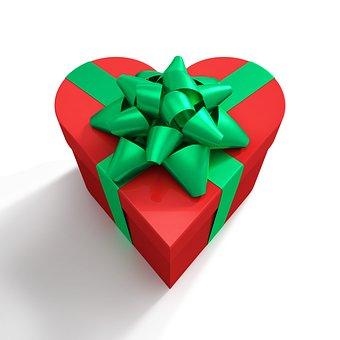 Gift, Anniversary, Birthday, Bow, Box, Celebration