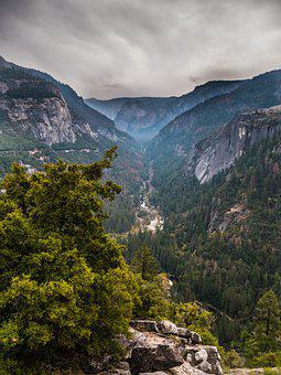 California, United States Of America, Dark Valley