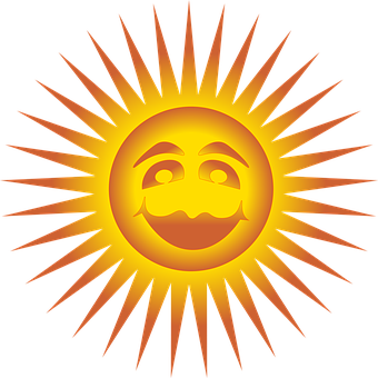 Sun, Happy, Face, Smile, Smiley, Hot