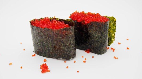 Sushi, Gunkan, Food