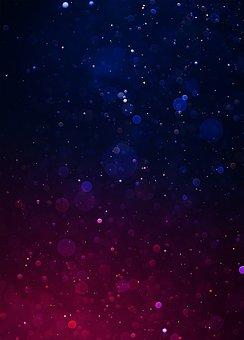 Bokeh, Dark, Red, Purple, Blue, Lights, Spot, Color