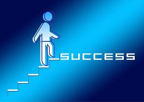 Success, Stairs, Ambition, Career, Rise, Determination