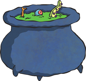 Pot, Witch, Potion, Magic, Spell